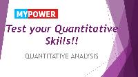 Quantitative Ability